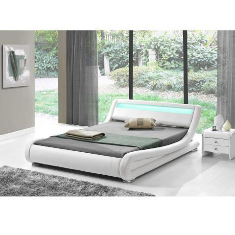 f30dafa285d0 FILIDA posteľ 180x200 cm ekokoža biela
