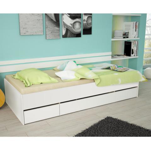 909532e50667 MATIASI posteľ biela