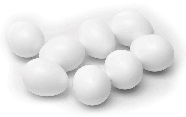 Vajíčka plastové