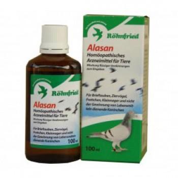 Alasan - homeopatikum pre holuby