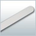 Pilník biely tenký